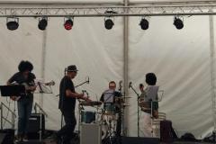 Skintight en directo en las fistas de San Froilán en 2018